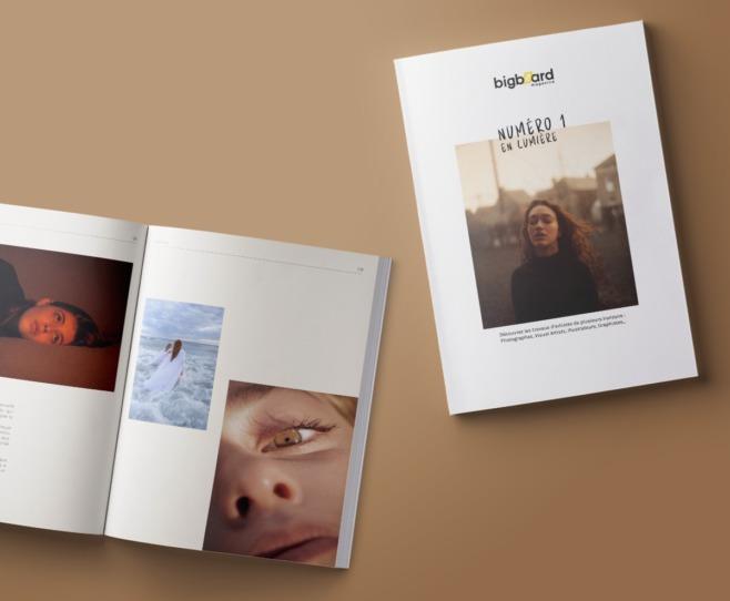 Bigboard magazine couverture et contenu